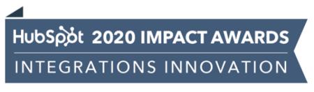 HubSpot Impact Awards for Integration