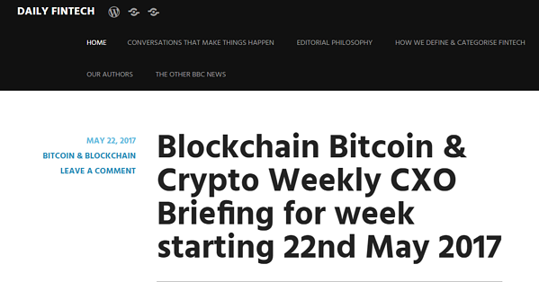 Daily Fintech Blog