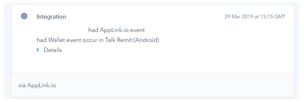 HubSpot and AppLink integration