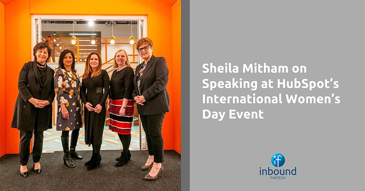 International Womens Day HubSpot with Sheila Mita