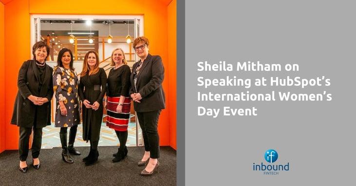 International Womens Day HubSpot with Sheila Mita