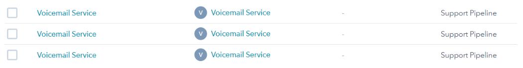 HubSpot's voicemail integration