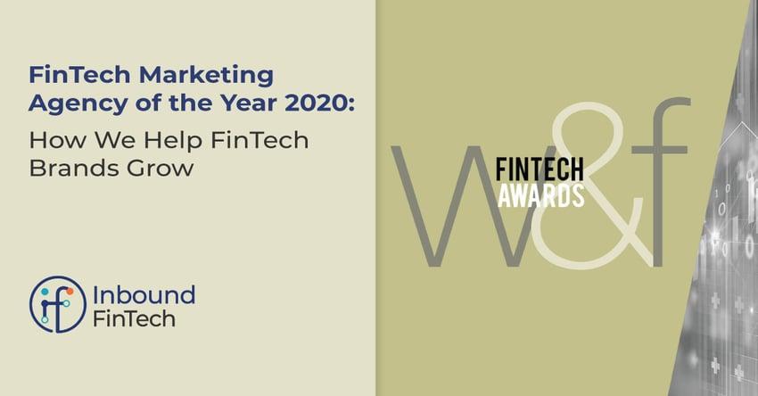 FinTech Marketing Agency of the Year 2020 | Inbound FinTech