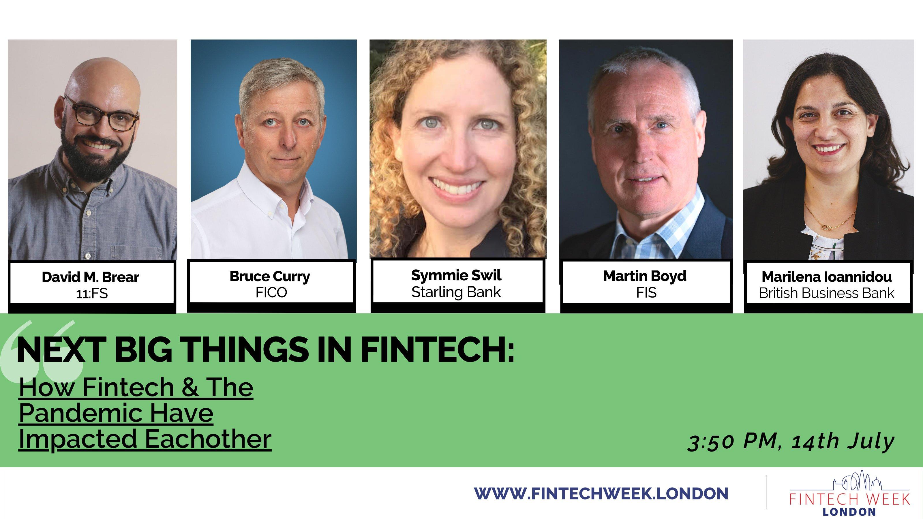 Fintech Week London Preview 2021 | Next big things in FinTech