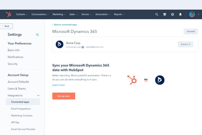 HubSpot Operations Hub | Data Sync