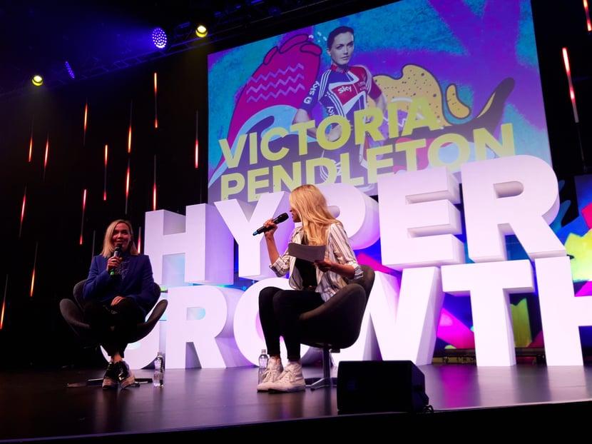 Victoria Pendleton Hypergrowth London 2019