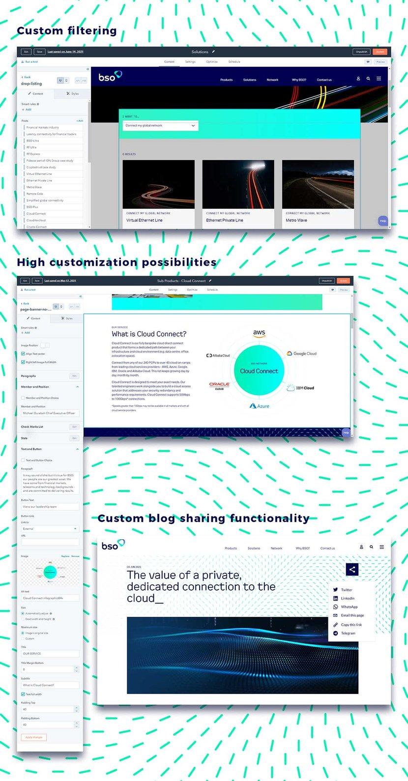 hubspot development website