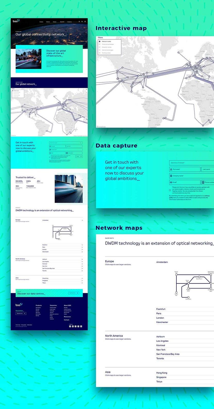 hubspot interactive map