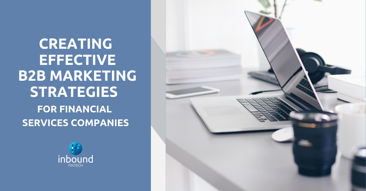 marketing strategies for financial services