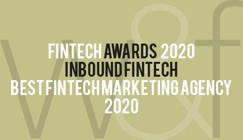 FinTech Awards | Best FinTech Marketing Agency 2020 - Inbound FinTech
